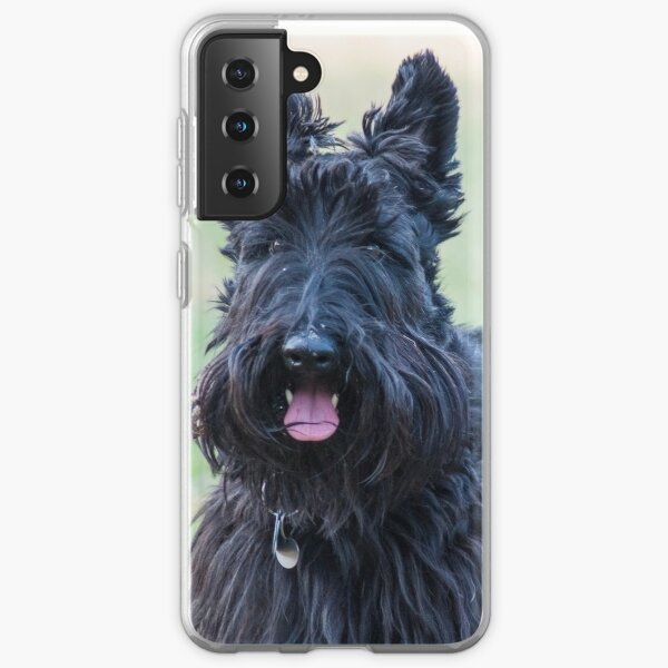 Jack the Scottie - Tongue out Samsung Galaxy Soft Case