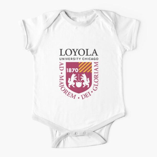 Loyola University Chicago Short Sleeve Baby One-Piece