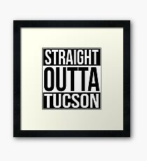 Straight Outta Tuscan Framed Print