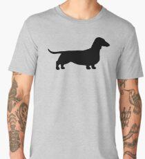 Dachshund Silhouette(s) Men's Premium T-Shirt