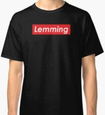 Don't Be A Lemming Classic T-Shirt