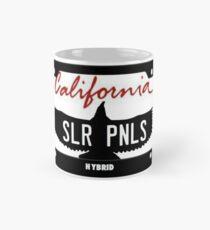 California SLR PNL license plate Mug