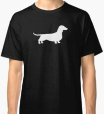 Dachshund Silhouette(s) Classic T-Shirt