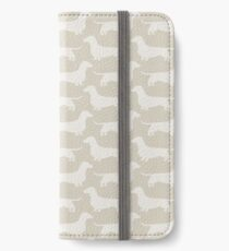 Dachshund Silhouette(s) iPhone Wallet/Case/Skin