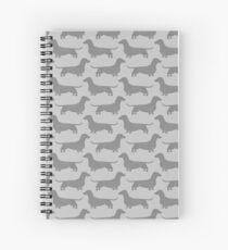 Dachshund Silhouette(s) Spiral Notebook