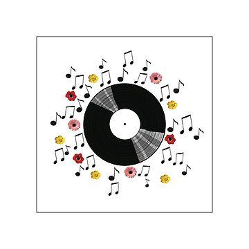 vinyl sun by Beatlemily
