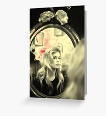 BRIGITTE BARDOT Greeting Card