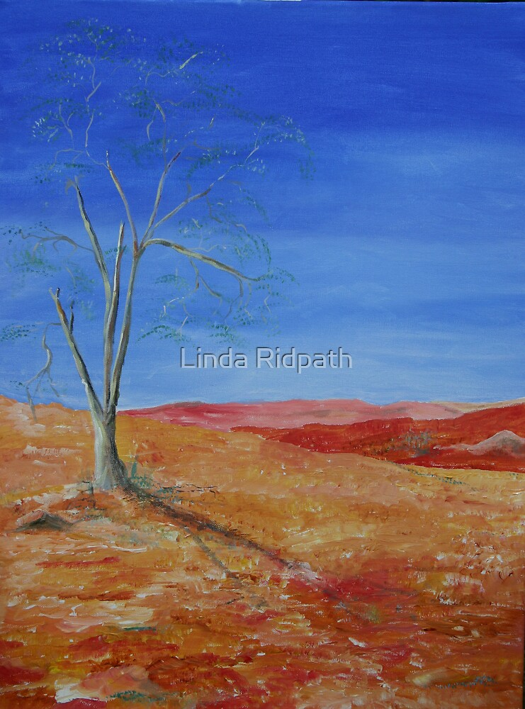 View from the Hill by Linda Ridpath
