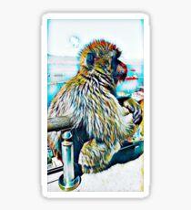 Monkey Do Sticker