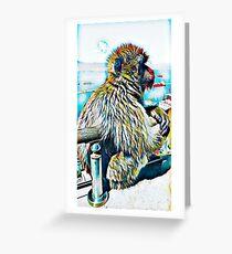 Monkey Do Greeting Card