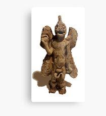 Lámina metálica Antigua estatua del desierto de Pazuzu