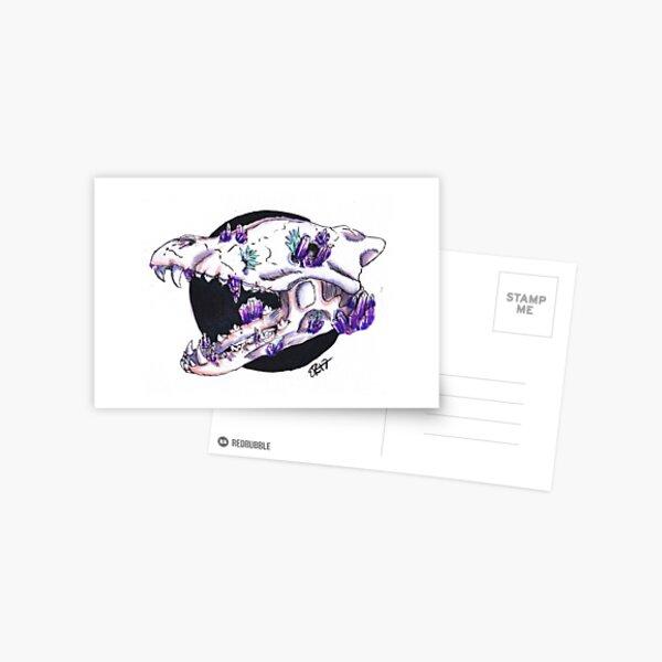 Crystal Skull Postcard