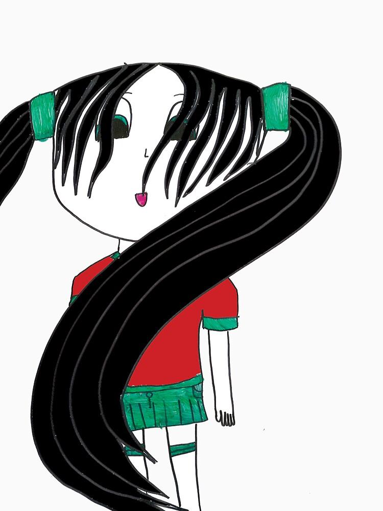 green skirt by SageGary
