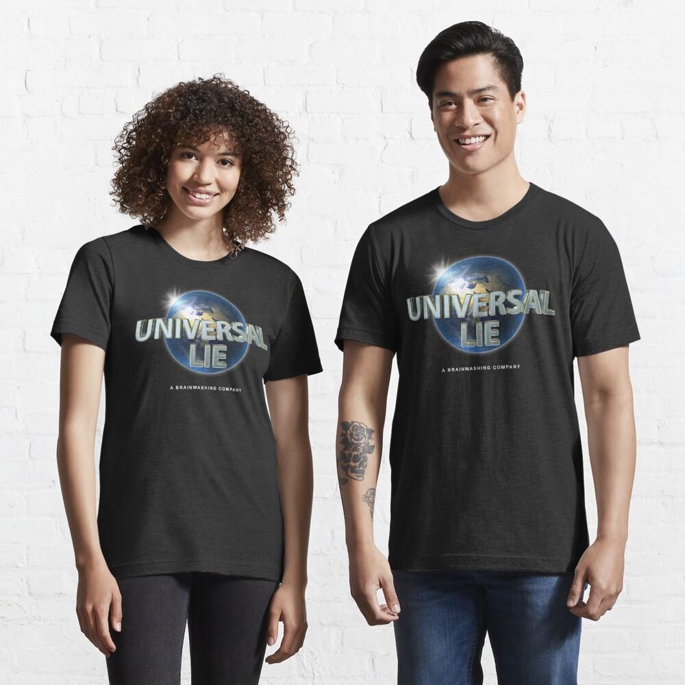 Flat Earth - Universal Lie Essential T-Shirt
