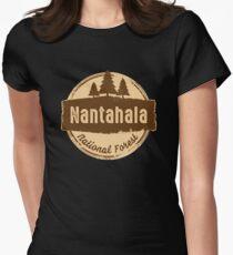 Nantahala National Forest Women's Fitted T-Shirt