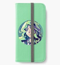 Diana Cavendish Circular Portrait - Little Witch Academia iPhone Wallet/Case/Skin