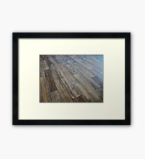 Hardwood Floor Framed Print