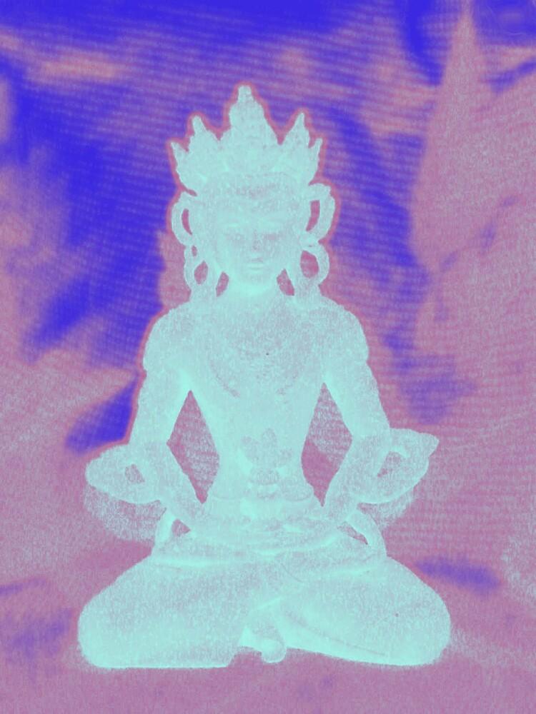 Neon Buddha by wysiwyg
