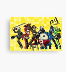 Persona 4 TWEWY style Canvas Print