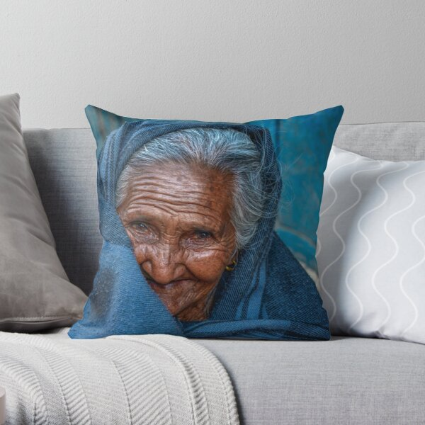 A Sweet Smile Throw Pillow