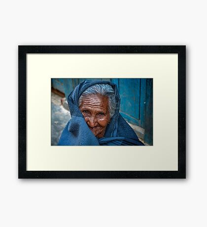 A Sweet Smile Framed Print
