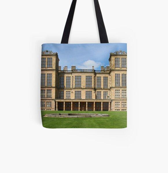 Hardwick Hall, East Elevation. All Over Print Tote Bag