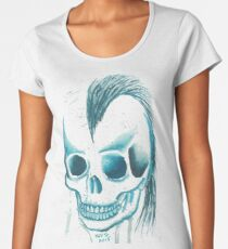Punk Skull - Art By Kev G Women's Premium T-Shirt