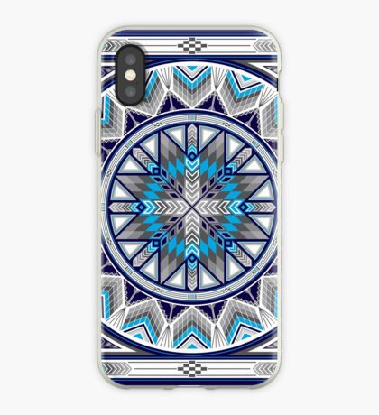 Sacred Places Blue  iPhone Case