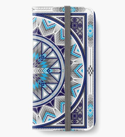 Sacred Places Blue  iPhone Wallet