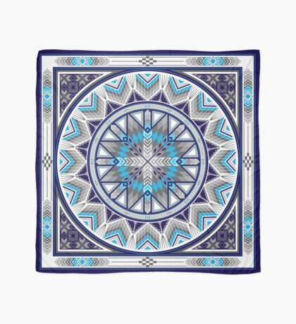 Sacred Places Blue  Scarf