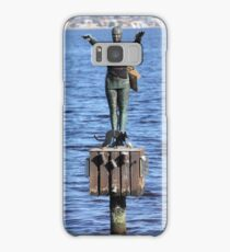 Great morning for a swim Samsung Galaxy Case/Skin