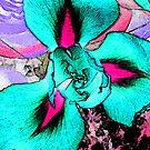 Turquoise Iris by wysiwyg