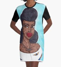 Queen of the Air Graphic T-Shirt Dress