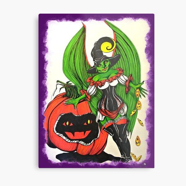 Halloween Fairy Metal Print