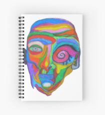 Man in Makeup Spiral Notebook