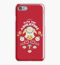 Time for Adventure Toad iPhone Case/Skin