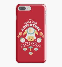 Time for Adventure Toad iPhone 7 Plus Case