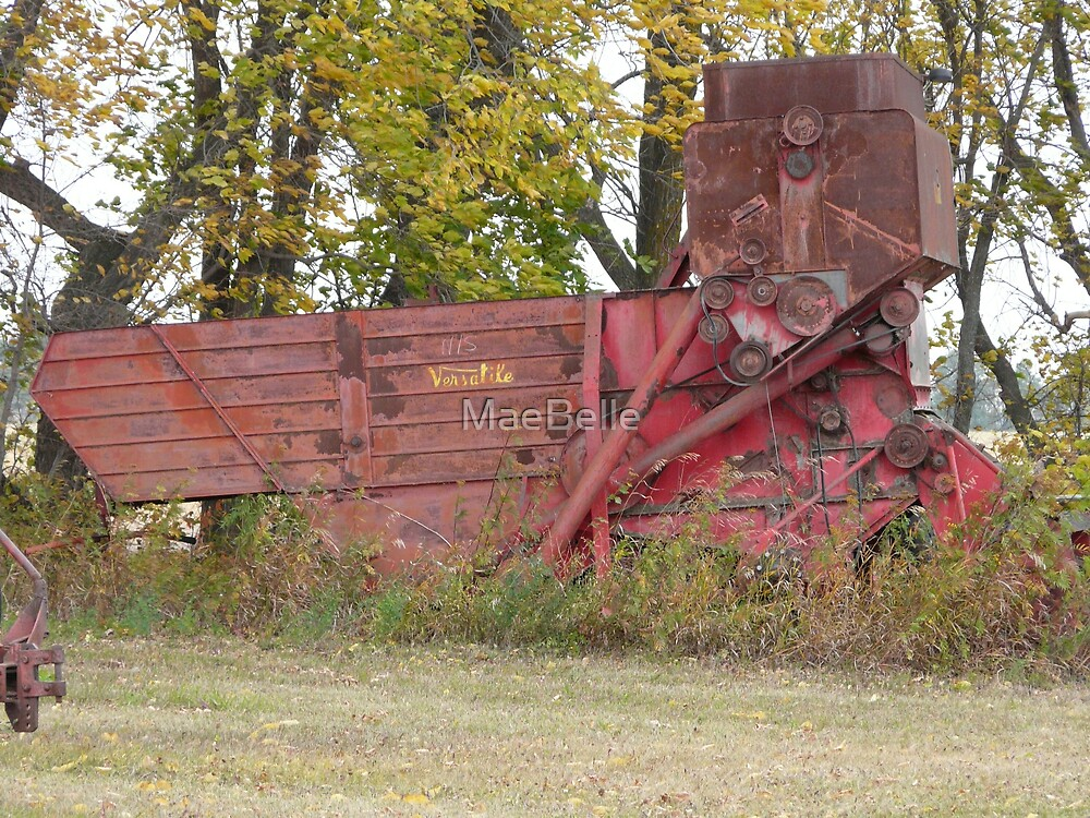 Old Combine by MaeBelle
