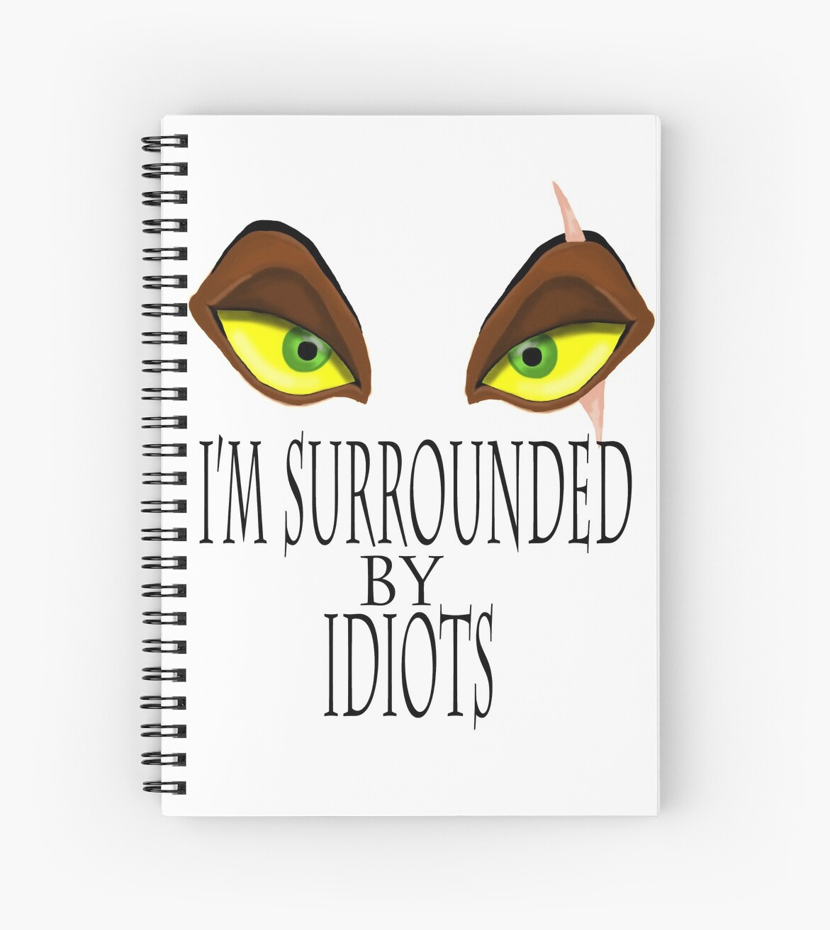 Lion King Scar Quote With Eyes Spiral Notebooks By Lizzyizzy