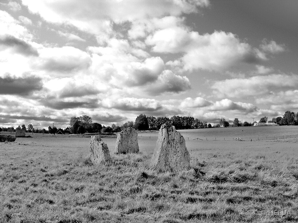 Megalithic Landscape by HELUA