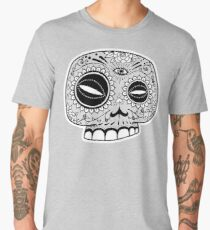 Sugar Skull Staring into the Sun Men's Premium T-Shirt
