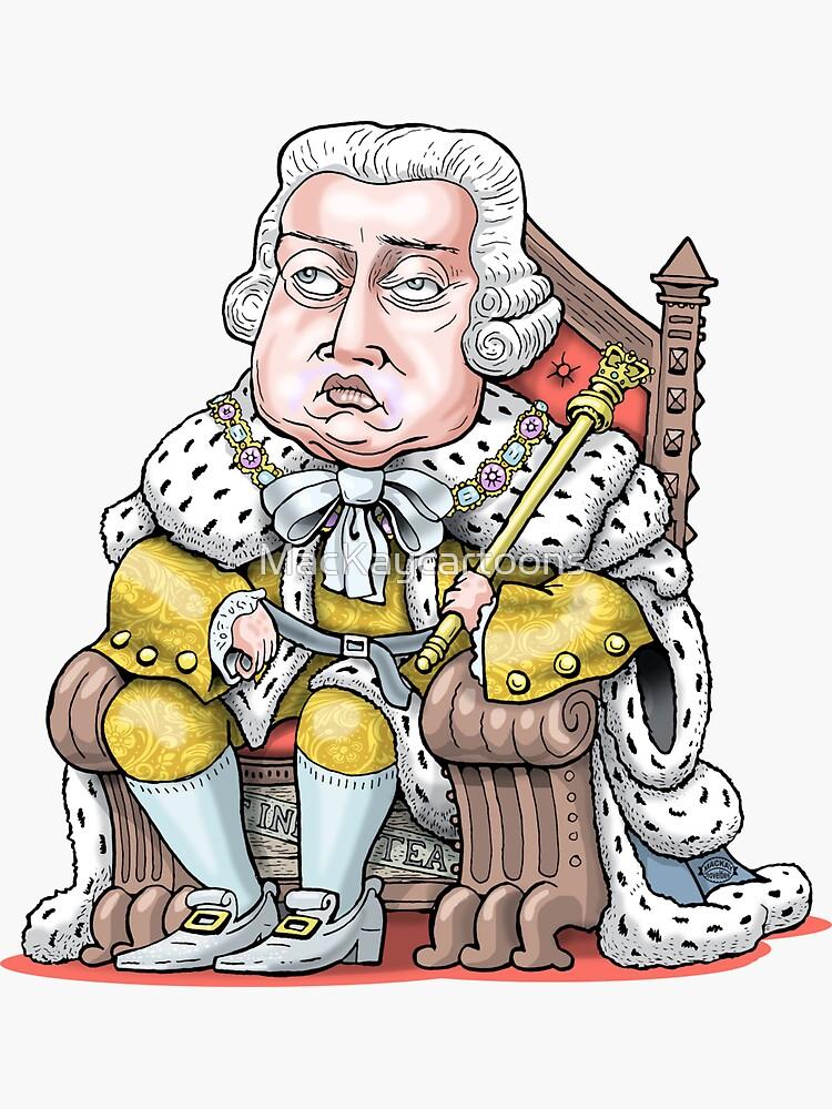 King George III by MacKaycartoons