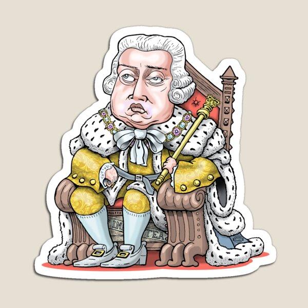 King George III Magnet