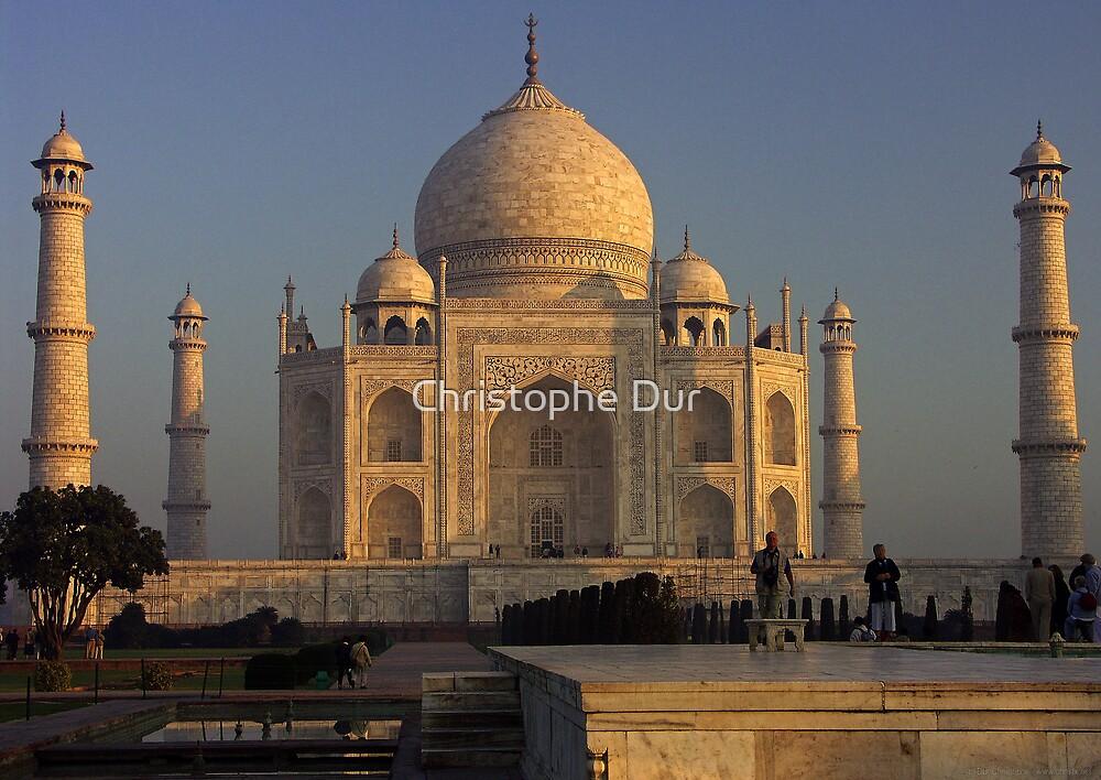 Taj Mahal - India by Christophe Dur