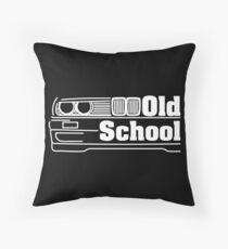 E30 Old School - White Floor Pillow