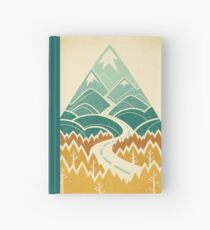 The Road Goes Ever On: Autumn Hardcover Journal