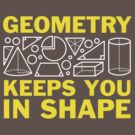 Geometry Keeps You In Shape by DetourShirts