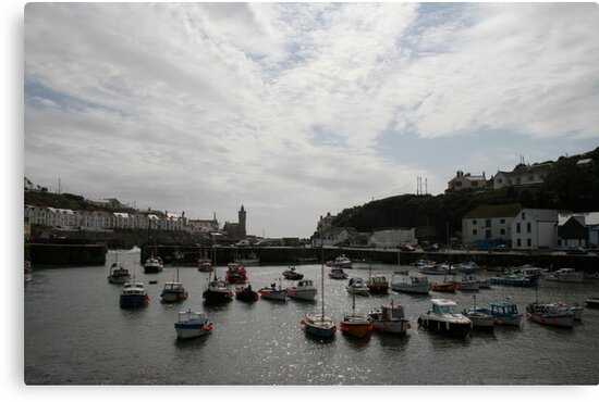 Porthleven Harbour by Iani
