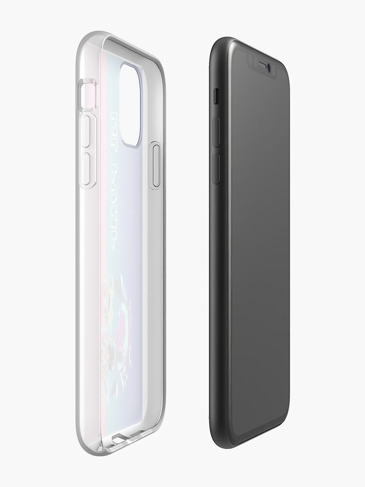 coque mod nx , Coque iPhone «Étui de téléphone Lil Pump Self Titled», par Bradleyharmon