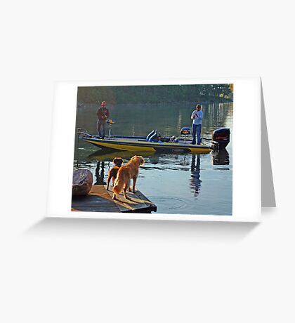 Can we help you? Greeting Card
